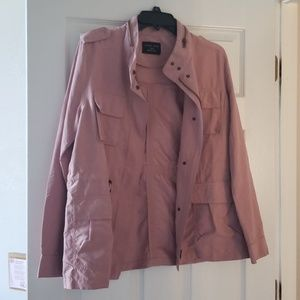 Dusty rose jacket, never worn but no tags.
